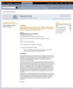 amendement assistentiehonden